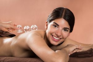 Cupping Under Acupuncture